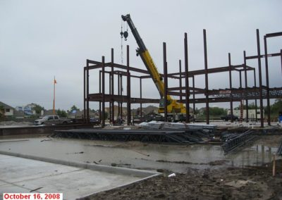 October 16, 2008 - GSSWH Main Building: Steel Frame