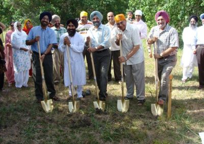 Groundbreaking ceremony of the GSSWH - June 2008